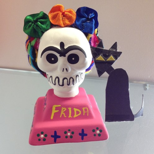 Frida with Kitty