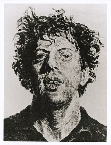 Chuck Close, Phil/Fingerprint, 1981, lithograph, Dallas Museum of Art, Mr. and Mrs. Jake L. Hamon Fund
