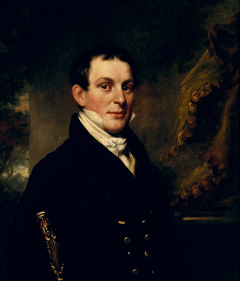 John Wesley Jarvis, Portrait of a Man, c. 1815-1820, oil on canvas, Dallas Museum of Art, bequest of Mrs. Sheridan Thompson