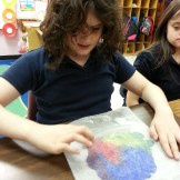 Creating color wheel paintings