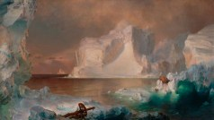 Frederic Edwin Church, The Icebergs, 1861, oil on canvas, Dallas Museum of Art, gift of Norma and Lamar Hunt