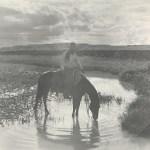 Erwin E. Smith_Frank Smith, Watering His Horse