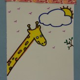 giraffe art activity