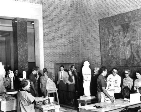Evaline Sellors and Octavio Medellin, 1950s