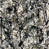 Jackson Pollock, Cathedral, 1947, Dallas Museum of Art, gift of Mr. and Mrs. Bernard J. Reis, 1950.87