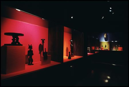African Gallery at the Dallas Museum of Fine Arts, Fair Park, in 1972.