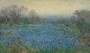 Julian Onderdonk, Untitled (Field of Bluebonnets), 1918-1920, Dallas Museum of Art, bequest of Margaret M. Ferris