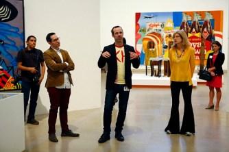 DMA curator Gabriel Ritter, organizing co-curators Bartholomew Ryan and Darsie Alexander