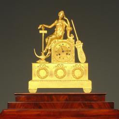 Mantel Clock, French, c. 1825, 1995.56