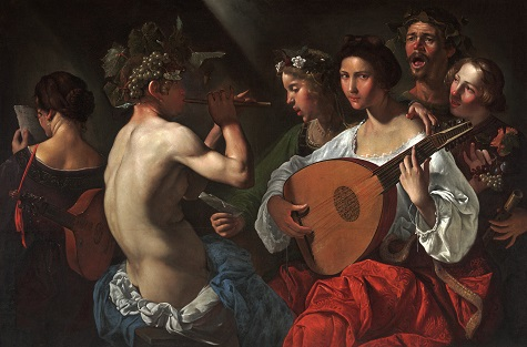 Bacchic Concert, Pietro Paolini, c. 1625–1630, oil on canvas, Dallas Museum of Art, The Karl and Esther Hoblitzelle Collection, gift of the Hoblitzelle Foundation 1987.17