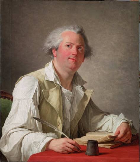 François André Vincent, Portrait of Pierre-Jean-Baptiste Choudard (called Desforges), 1789, 29.2004.1, Lent by the Michael L. Rosenberg Foundation