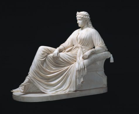 William Wetmore Story, Semirarmis, designed 1872, carved 1873, marble, Dallas Museum of Art, gift of Morynne and Robert E. Motley in memory of Robert Earl Motley, Jr., 1972-1998