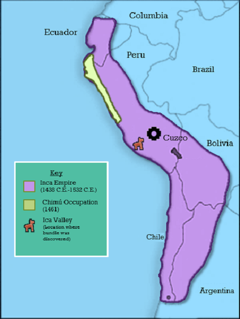 Map of Inca Empire