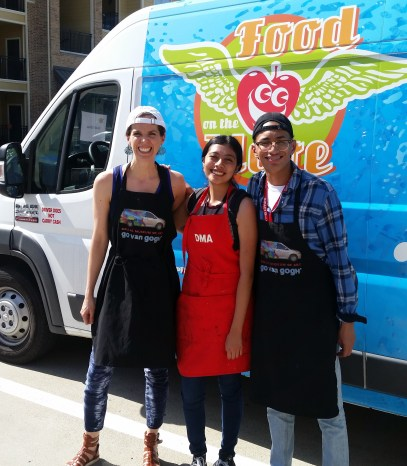 This summer's Food on the Move and Go Van Gogh collaboration.