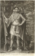 John Simon after John Verelst, Sa Ga Yeath Qua Pieth Tow, King of the Maquas, after 1710, mezzotint, National Gallery of Art, Washington, Paul Mellon Fund