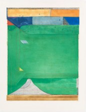 Richard Diebenkorn, Green, 1986, spitbite aquatint, soapground aquatint, and drypoint, National Gallery of Art, Washington, Eugene L. and Marie-Louise Garbaty Fund and Patrons' Permanent Fund, © The Richard Diebenkorn Foundation