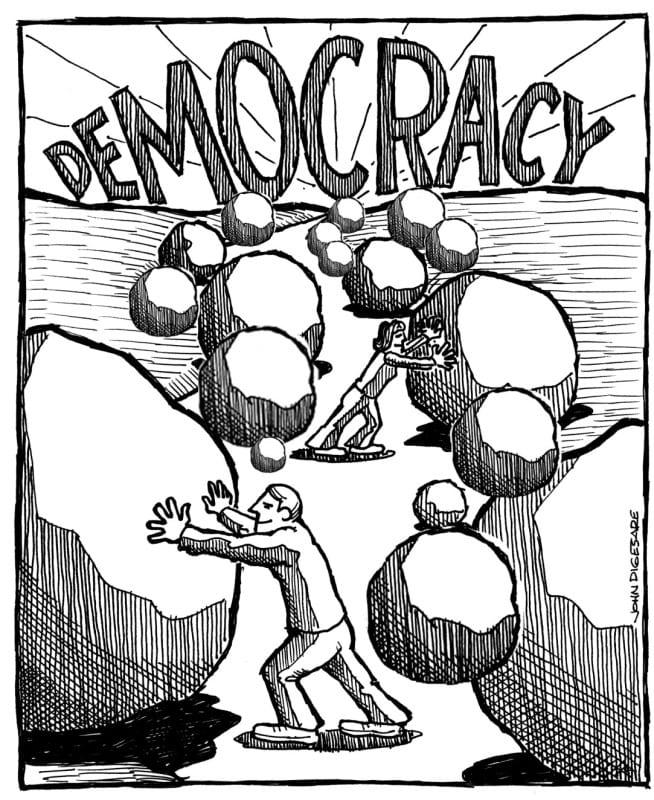 Prawa mniejszości. Ćwiczenia z Demokracji