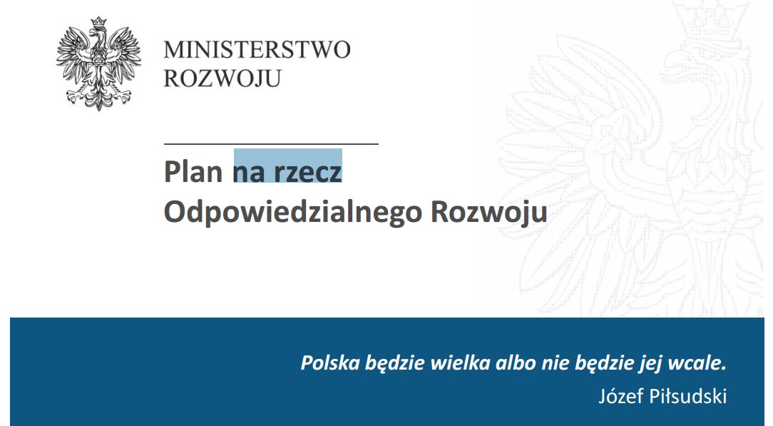 plan na rzecz (Morawiecki)
