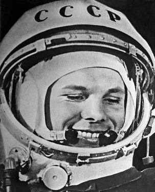 Sowiecki kosmonauta Jurij Gagarin