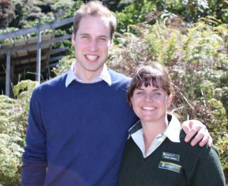 His Royal Highness, Prince William, and Nic Vallance