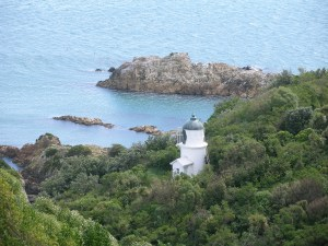 Matiu/Somes Island lighthouse