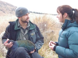 James and Linda Kilduff talk takahē.