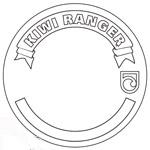 Blank Kiwi Ranger badge.