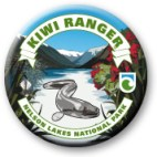 Nelson Lakes Kiwi Ranger badge.