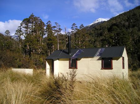 Cedar Flat Hut, West Coast.