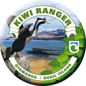 Otamahua / Quail Island badge.