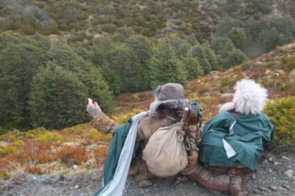 Dwarves enjoy the view