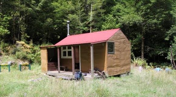 Iron Gate Hut.