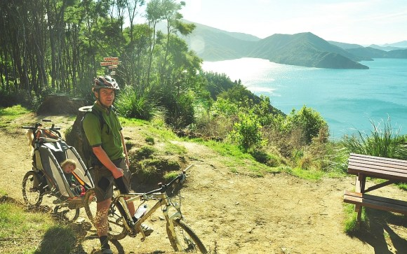 A view along the Queen Charlotte Track.