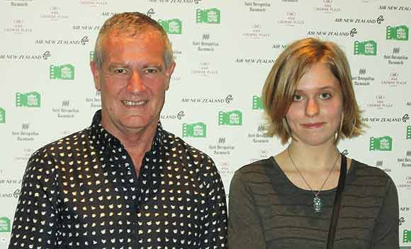 Grant Muir and Natasha Bishop at the Japan Wildlife Film Festival.
