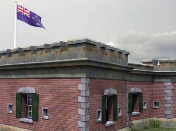 Fort Takapuna.