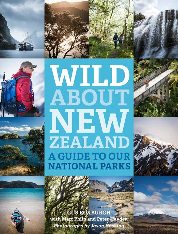 Cover of Wild About New Zealand.