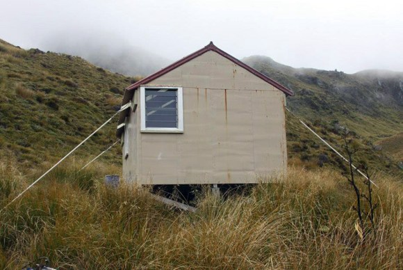 Lake Morgan Hut.