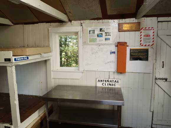 Inside Blue Range Hut.