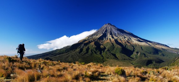Mount Taranaki. Photo:  Kathrin & Stefan Marks | CC BY-NC-ND 2.0.