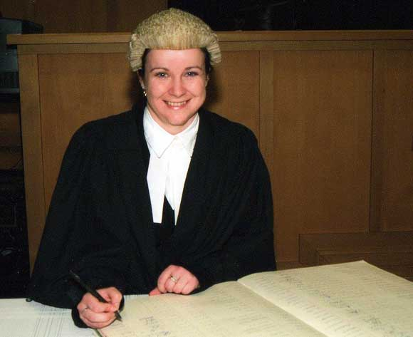 Getting admitted to the Bar in June 2009
