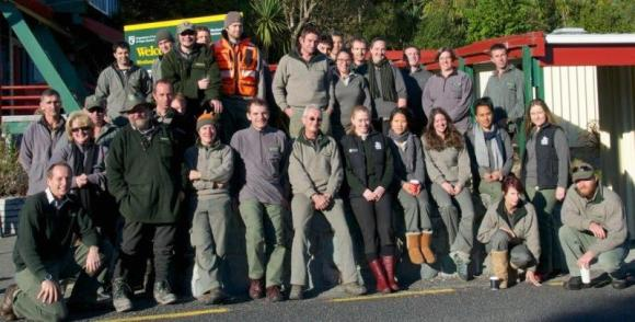 The South Westland DOC team.