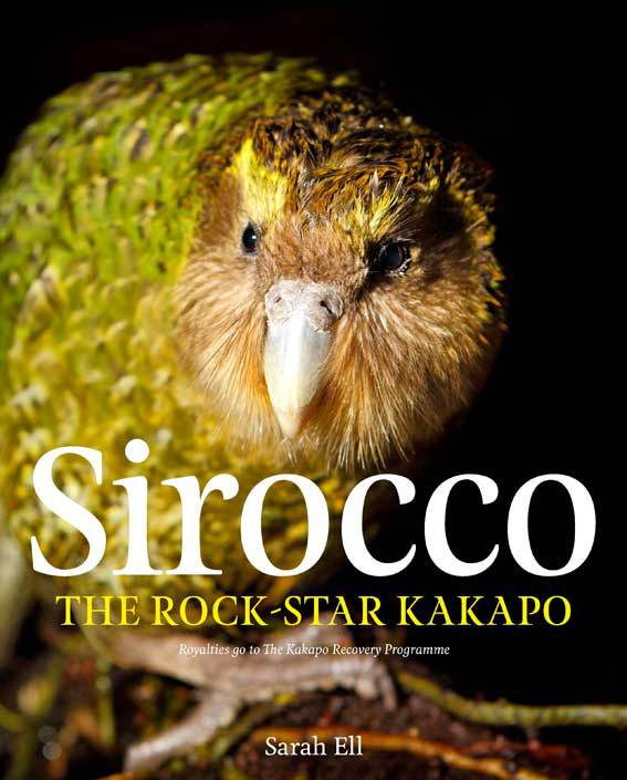 Sirocco the rock-star kakapo book.