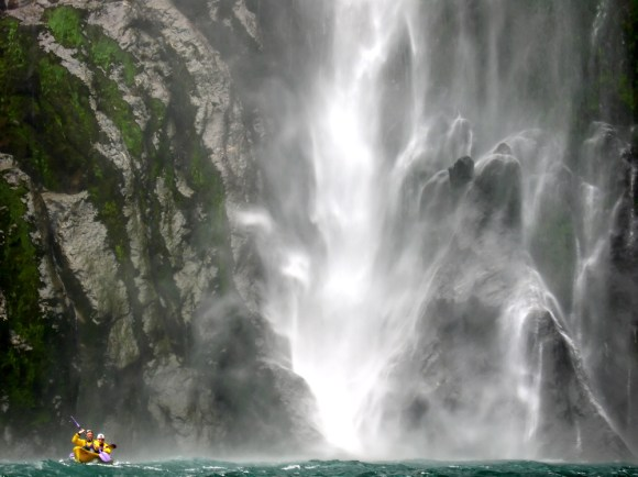 Kayaking in Milford Sound. Photo: Olya Smith | CC BY-NC-ND 2.0.