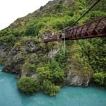 Kawarau Gorge Suspension Bridge.