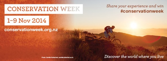Conservation Week: 1-9 November 2014. Discover the world where you live.