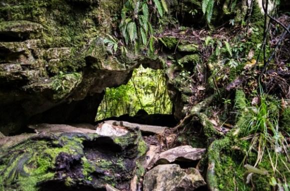 Hole in a limestone rock formation. Photo: Tim Bradley   CC BY-NC 2.0.