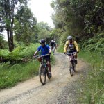 Riding the Mangapurua.