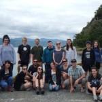 DOC interns on Matiu/Somes Island.