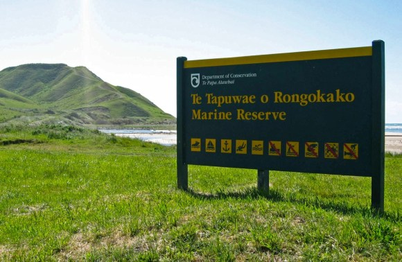 Te Tapuwae o Rongokako Marine Reserve.