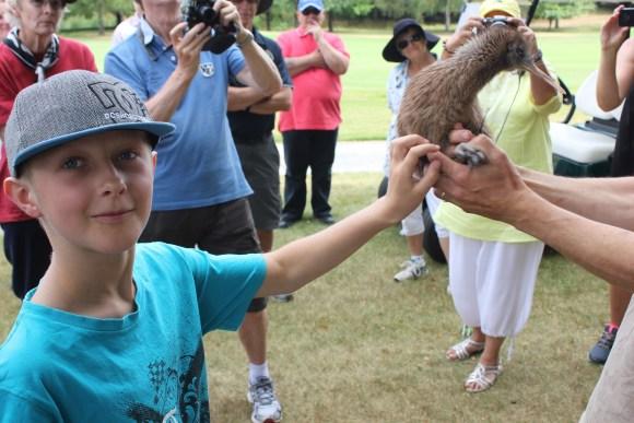 Kindara meets the public at Wairakei Golf + Sanctuary.